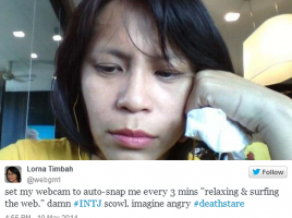 Scowl / Death Stare of an INTJ