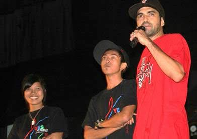 Mario of HaviKoro Crew YES Hip Hop Kota Kinabalu